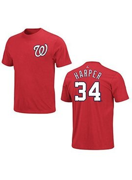 MAJESTIC BRYCE HARPER 34 T-SHIRT YOUTH