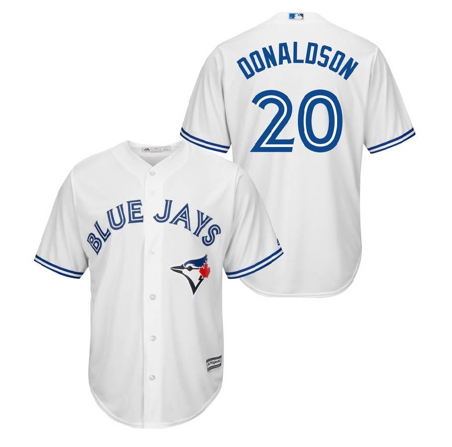 ec05eb0487c MAJESTIC Josh Donaldson Toronto Blue Jays Mens Replica Jersey . ...