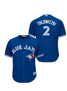 MAJESTIC Troy Tulowitski Toronto Blue Jays Men's Replica Jersey