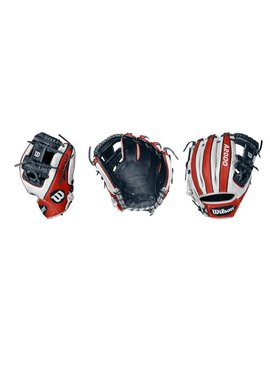 WILSON-DEMARINI A2000 JULY glove of the month Patriotic 1786 Right Hand throw