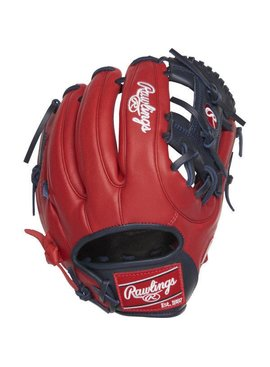 "RAWLINGS Gamer XLE 11.75"" Baseball Glove Red/Navy Right-Hand Throw"
