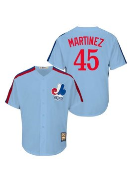 MAJESTIC Pedro Martinez Cooperstown Men's Jersey