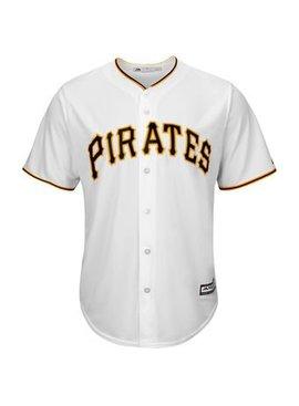 MAJESTIC Pittsburgh Pirates Replica Jersey White X-Large