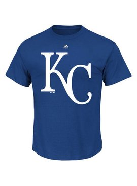 MAJESTIC KANSAS CITY ROYAL T-SHIRT