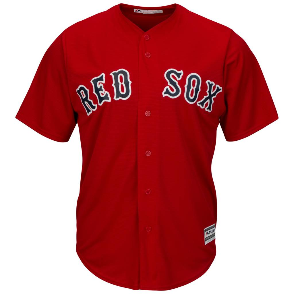 MAJESTIC CHEMISE RED SOX BOSTON SMALL