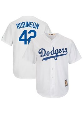 MAJESTIC LOS ANGELES DODGERS JACKIE ROBINSON JERSEY