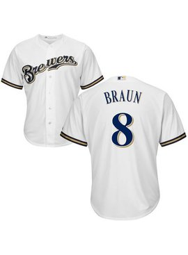 MAJESTIC CHEMISE R. BRAUN BREWERS MEDIUM