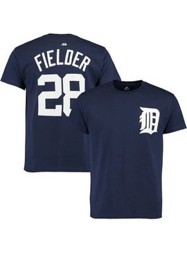 MAJESTIC PRINCE FIELDER DETROIT T-SHIRT YOUTH MEDIUM