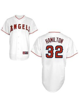 MAJESTIC ANGELS HAMILTON JERSEY LARGE