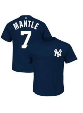 MAJESTIC T-SHIRT MANTLE NEW YORK YANKEES