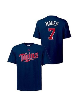 MAJESTIC T-SHIRT MAUER MINNESOTA TWINS