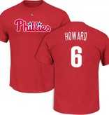 MAJESTIC CHANDAIL R. HOWARD PHILLIES YOUTH MEDIUM