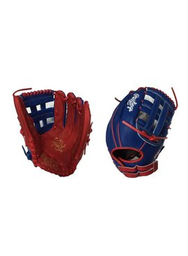 "RAWLINGS HOH Custom Softball Glove 13"" Royal/Red Right Hand-Throw"