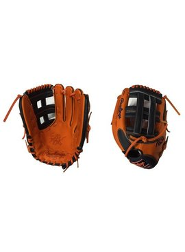 "RAWLINGS HOH Custom Softball Glove 13"" Orange/Black Right Hand-Throw"