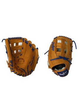 "RAWLINGS Pro Prefered  custom glove 12.5"" Rich tan/Royal Right hand throw"