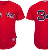 MAJESTIC CHEMISE DAVID ORTIZ RED SOX SMALL