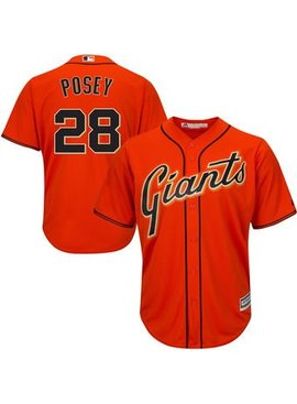 MAJESTIC Buster Posey San Francisco Giants Men's Replica Jersey