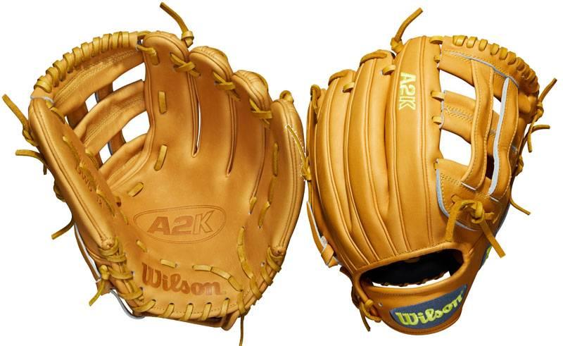 WILSON-DEMARINI A2K August Glove of the Month Daniel Norris DW5 BBG Right-Hand Throw
