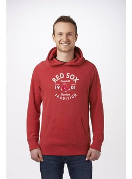 CAMPUS CREW BOSTON RED SOX PULLOVER HOODY