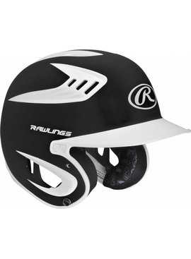 RAWLINGS S80X2J Youth Batting Helmet Matte