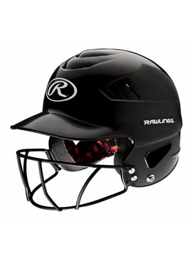 RAWLINGS RCFHFG Batting Helmet With Faceguard