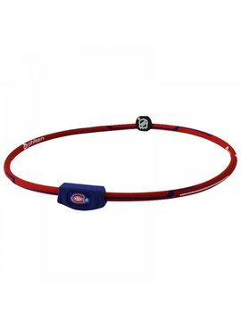 PHITEN PHITEN CANADIENS DE MONTREAL NECKLACE 22""