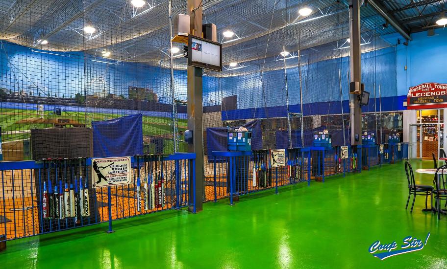 Coup s r le plus grand centre de cages de frappeurs for Centre liquidation electromenager laval