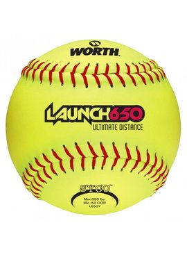 WORTH Worth LAUNCH 650 ULTIMATE DISTANCE YELLOW