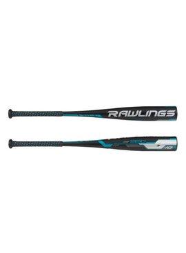 "RAWLINGS 5150 1Pc-Balanced Alloy 2 3/4"" Baseball Bat (-10)"