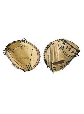 """WILSON A2000 CM33 33"""" Catcher's Baseball Glove"""