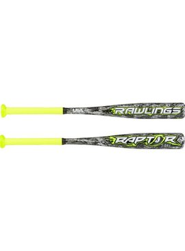 "RAWLINGS Raptor 2 1/4"" USA Tee Ball Baseball Bat (-12)"