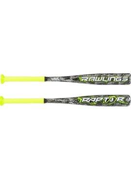 "RAWLINGS Rawlings Raptor 2 1/4"" USA Tee Ball Baseball Bat (-12)"