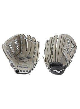 "MIZUNO GFN1175GB Franchise Grey/Black 11.75"" Baseball Glove"