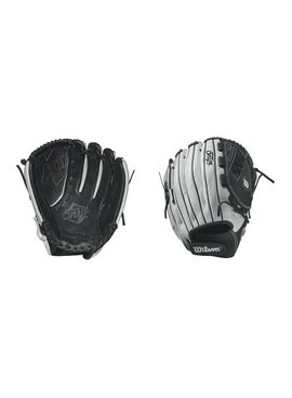 "WILSON ONIX FP 12.5"" V Web Coal BL Fastpitch Glove"