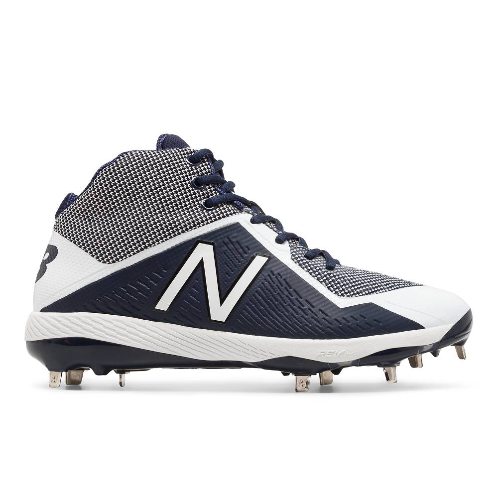 New Balance M4040v4 Metal Mid Baseball Cleats Baseball Town