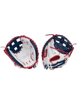 "RAWLINGS RLACM33FPWNS Liberty Advanced 33"" Catcher's Fastpitch Glove Lance de la Droite"
