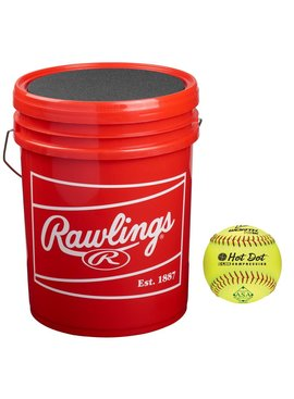 RAWLINGS Hot Dot ASA Bucket (2 DZ)