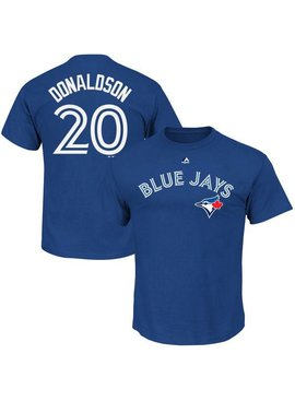 OUTERSTUFF HD Cotton Blue Jays Donaldson Youth Shirt