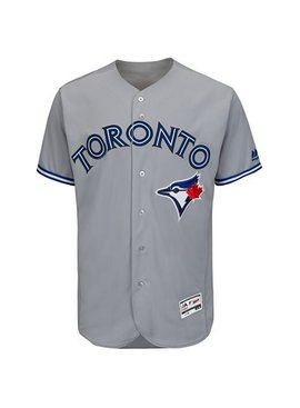 OUTERSTUFF Road Grey Replica Boys Blue Jays Jersey