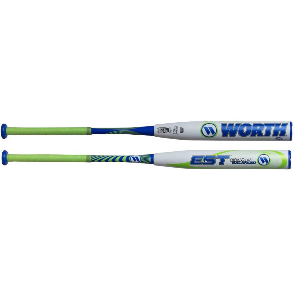 "WORTH Bâton de Softball EST Balance 12.5"" de Baril USSSA"
