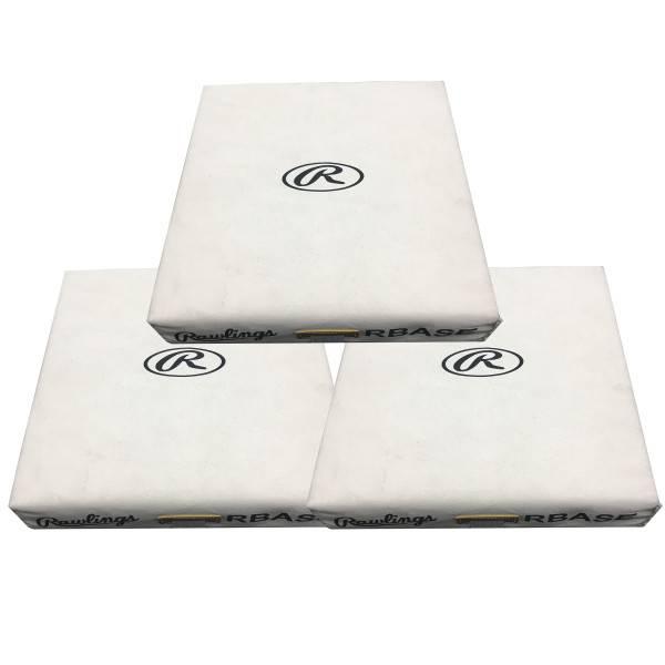 RAWLINGS 3PK Canvas double strap BASE bag