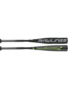 "RAWLINGS Bâton de Baseball Quatro Pro Comp. 2 3/4"" USSSA (-10)"