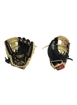 "RAWLINGS G312-2BC Gamer XLE 11.25"" Black/Camel Baseball Glove"