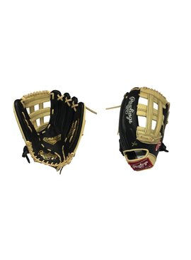 "RAWLINGS G3029-6BC Gamer XLE 12.75"" Black/Camel Baseball Glove"