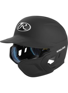 RAWLINGS 1-Tone Mach Batting Helmet with Extender