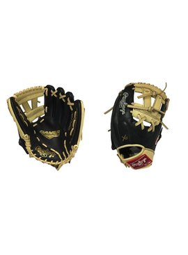 "RAWLINGS GNP4-7BC Gamer XLE 11.5"" Black/Camel Baseball Glove"