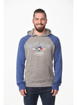 CAMPUS CREW Men's Colour Block Hood Toronto Blue Jays