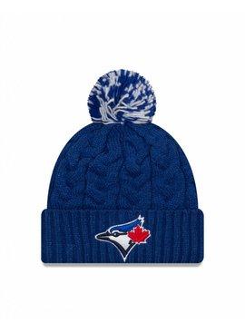 NEW ERA Tuque Cozy Cable pour Femme des Blue Jays de Toronto