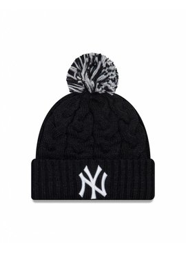 NEW ERA Tuque Cozy Cable pour Femme des Yankess de New York