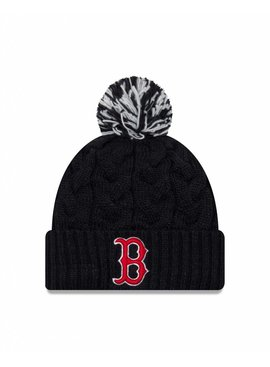 NEW ERA Women Cozy Cable Knit Boston Red Sox